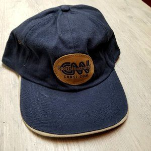 Vintage Sports Illustrated Leather Patch Hat.